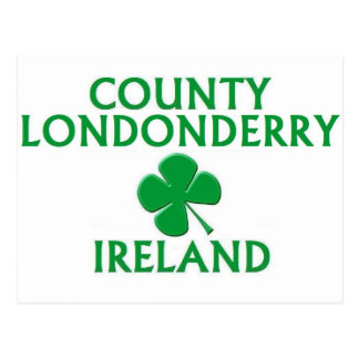 County Londonderry Ireland Post Card