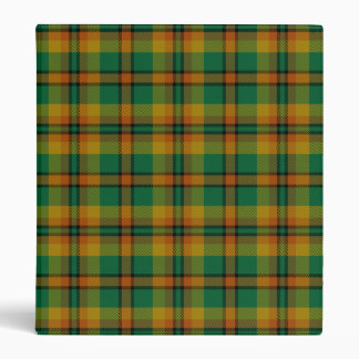 County Londonderry Irish Tartan Binder