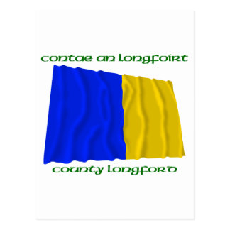 County Longford Colours Postcard