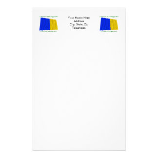 County Longford Colours Stationery Design