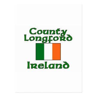 County Longford, Ireland Postcard