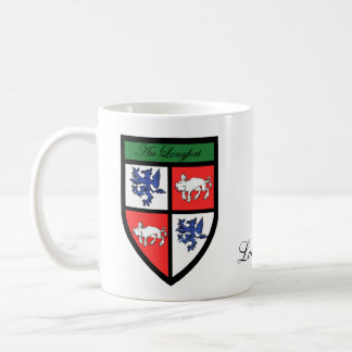 County Longford Map & Crest Mugs