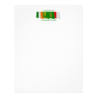 County Louth Flags Letterhead
