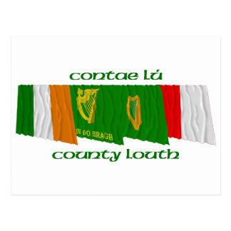 County Louth Flags Postcard