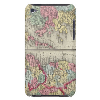 County Map Of Scotland Barely There iPod Cover