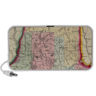 County Map Of The State Of Maine Mini Speaker
