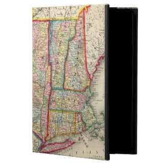 County Map Of The States Of New York Cover For iPad Air