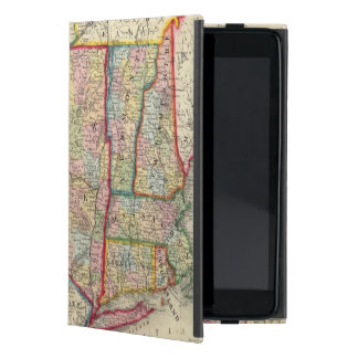 County Map Of The States Of New York Cover For iPad Mini