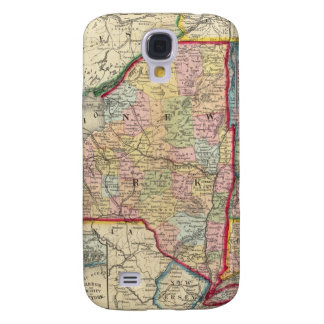 County Map Of The States Of New York Galaxy S4 Case