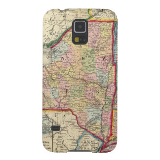 County Map Of The States Of New York Galaxy S5 Case