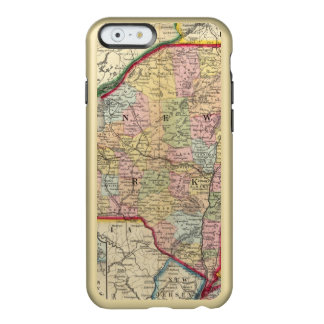 County Map Of The States Of New York Incipio Feather Shine iPhone 6 Case
