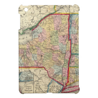 County Map Of The States Of New York iPad Mini Case