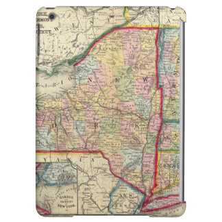 County Map Of The States Of New York iPad Air Case