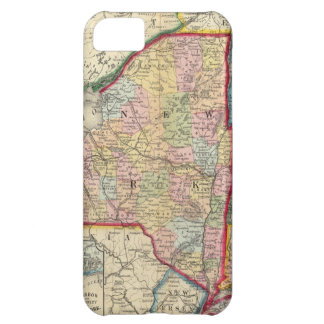 County Map Of The States Of New York iPhone 5C Case
