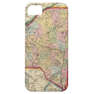 County Map Of The States Of New York iPhone SE/5/5s Case