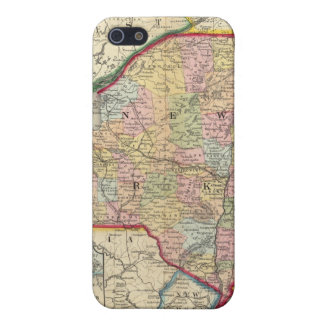County Map Of The States Of New York iPhone SE/5/5s Cover