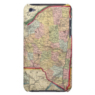 County Map Of The States Of New York iPod Case-Mate Case