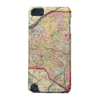 County Map Of The States Of New York iPod Touch 5G Cover