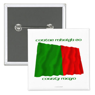 County Mayo Colours Pinback Button