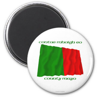 County Mayo Colours 2 Inch Round Magnet