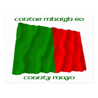 County Mayo Colours Postcard