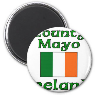 County Mayo, Ireland 2 Inch Round Magnet