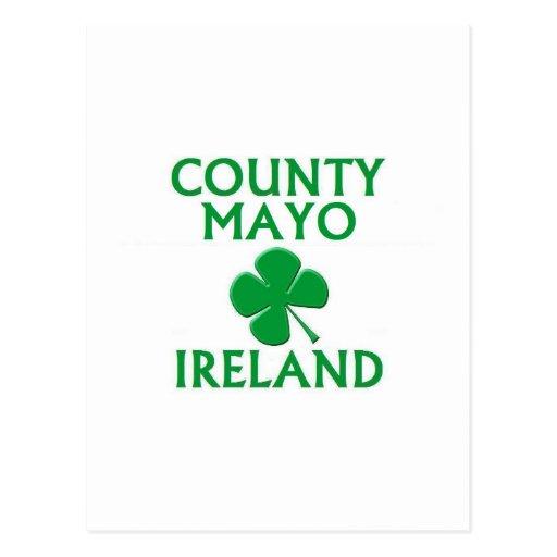 County Mayo, Ireland Postcard