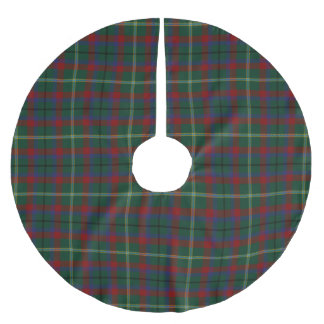 County Mayo Irish Tartan Brushed Polyester Tree Skirt