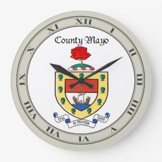 County Mayo Wall Clock
