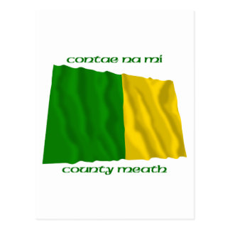 County Meath Colours Postcard