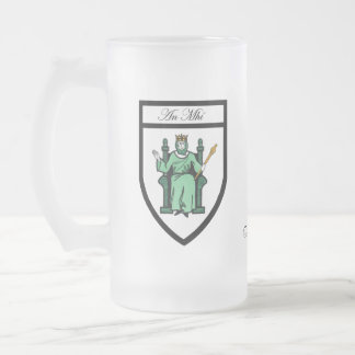 County Meath Map Crest Mugs