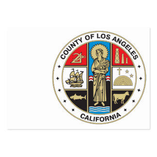 County of Los Angeles seal Large Business Card