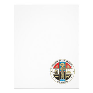 County of Los Angeles seal Letterhead