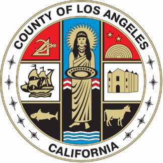 County of Los Angeles seal Cut Outs