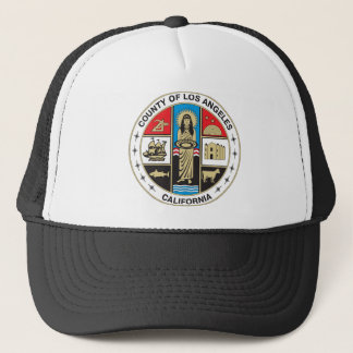County of Los Angeles seal Trucker Hat