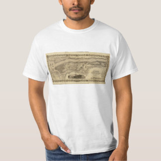 County of (Manhattan) New York Map (1836) T-Shirt