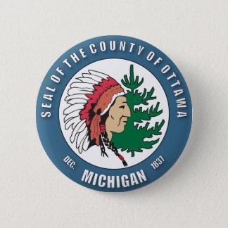 County of Ottawa seal Button