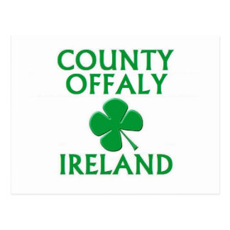 County Offaly, Ireland Postcard