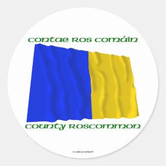County Roscommon Colours Sticker