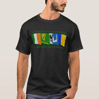 County Roscommon Flags T-Shirt