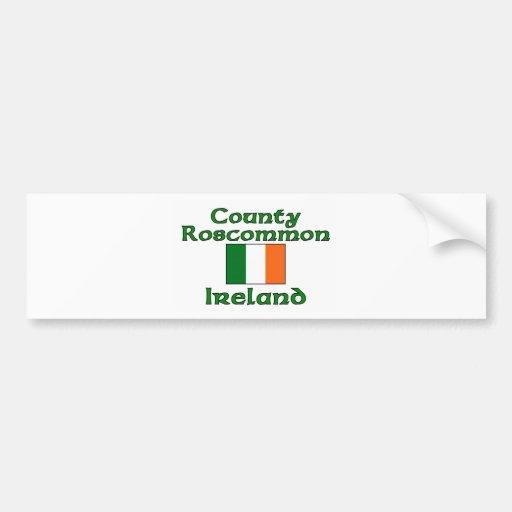 County Roscommon, Ireland Bumper Stickers