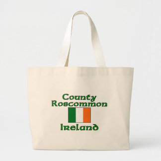 County Roscommon, Ireland Large Tote Bag