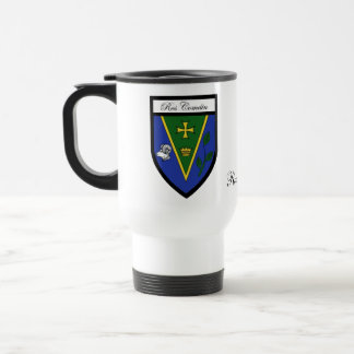 County Roscommon Map & Crest Mugs