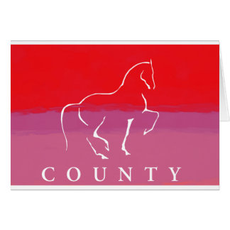 COUNTY SADDLERY DRESSAGE GREETING CARDS