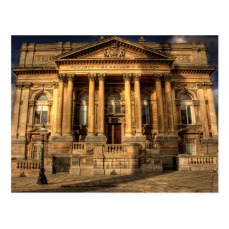 County Sessions House in William Brown Street, Liv Postcard