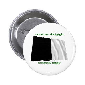 County Sligo Colours Pinback Buttons