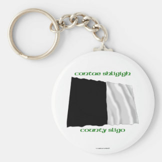 County Sligo Colours Basic Round Button Keychain