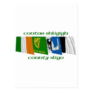 County Sligo Flags Postcard