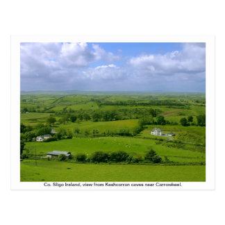 County Sligo Ireland, Carrowkeel Postcard
