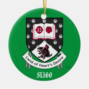 county sligo ireland christmas ornament